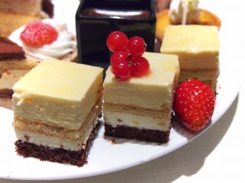 パッションフルーツとホワイトチョコレートのムース@THE WESTIN TOKYO THE TERRACE 2014年02月