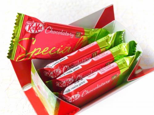スペシャル サクラグリーンティー03@KitKat Chocolatory