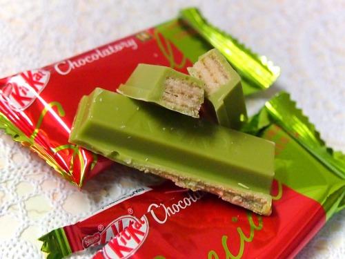 スペシャル サクラグリーンティー05@KitKat Chocolatory