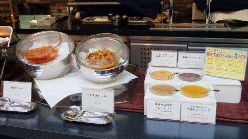 サラダ02@東京ベイ舞浜ホテル FINE TERRACE 2014年04月