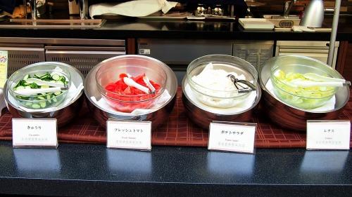サラダ01@東京ベイ舞浜ホテル FINE TERRACE 2014年04月