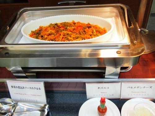 野菜煮込みソースのクルル01@東京ベイ舞浜ホテル FINE TERRACE 2014年04月
