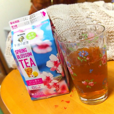 午後の紅茶 SPRING BLOSSOM さくら香るピーチティー02@KIRIN