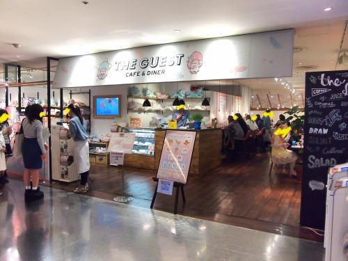 お店@THE GUEST cafe&diner キキララカフェ
