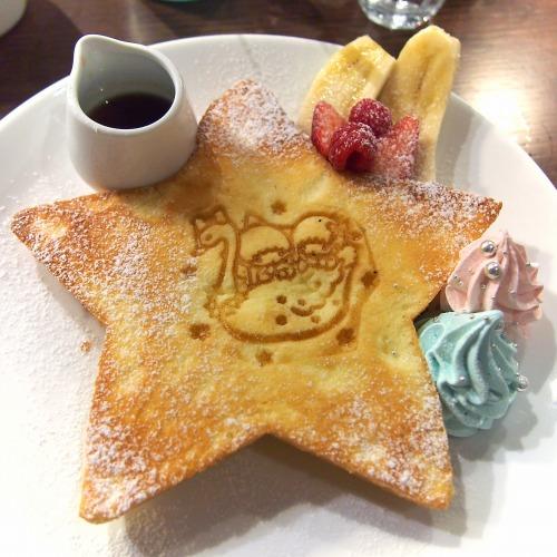 キキとララのふわふわスウィートパンケーキ02@THE GUEST cafe&diner キキララカフェ