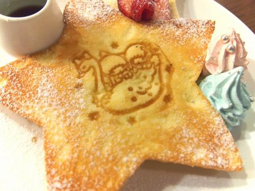 キキとララのふわふわスウィートパンケーキ03@THE GUEST cafe&diner キキララカフェ