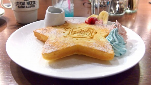 キキとララのふわふわスウィートパンケーキ04@THE GUEST cafe&diner キキララカフェ