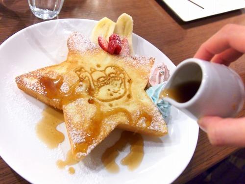キキとララのふわふわスウィートパンケーキ05@THE GUEST cafe&diner キキララカフェ