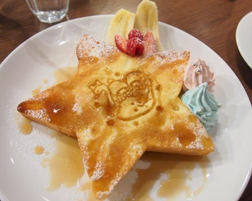 キキとララのふわふわスウィートパンケーキ06@THE GUEST cafe&diner キキララカフェ