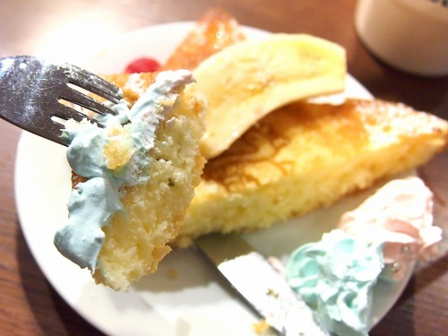 キキとララのふわふわスウィートパンケーキ08@THE GUEST cafe&diner キキララカフェ