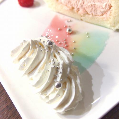 星のステッキから出てきた魔法のロールケーキ05@THE GUEST cafe&diner キキララカフェ