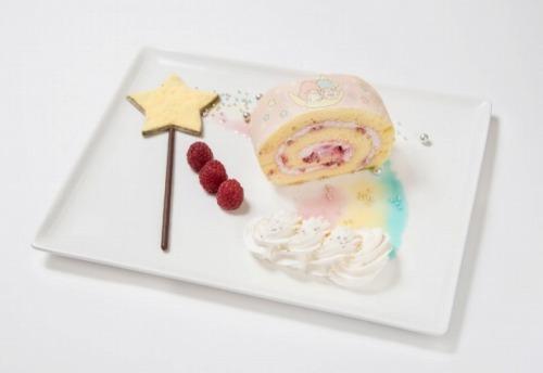 星のステッキから出てきた魔法のロールケーキ08@THE GUEST cafe&diner キキララカフェ