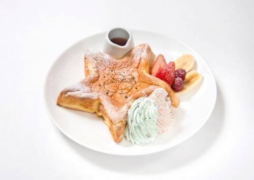 キキとララのふわふわスウィートパンケーキ09@THE GUEST cafe&diner キキララカフェ