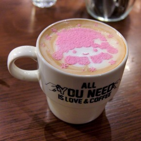 キキ☆ラテ/ララ☆ラテ02@THE GUEST cafe&diner キキララカフェ
