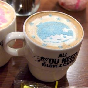 キキ☆ラテ/ララ☆ラテ04@THE GUEST cafe&diner キキララカフェ