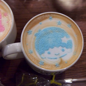 キキ☆ラテ/ララ☆ラテ05@THE GUEST cafe&diner キキララカフェ