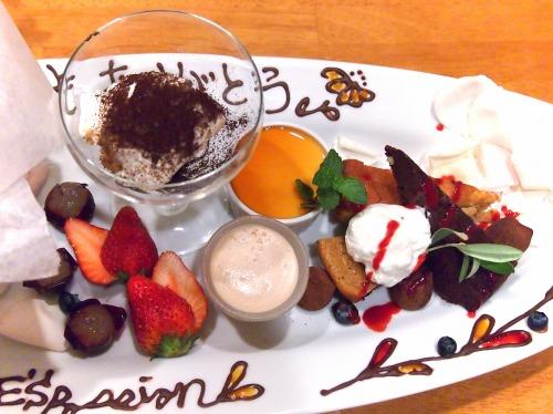 デザート盛り合わせ02@Es Passion