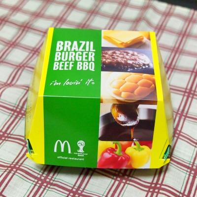 ブラジルバーガー ビーフBBQ01@McDonalds