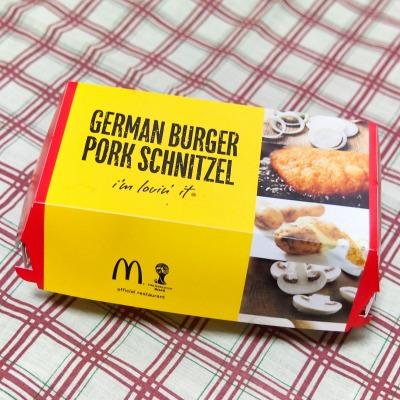 ドイツバーガー ポークシュニッツェル01@McDonalds