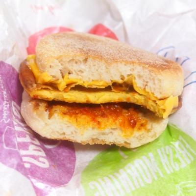 スパニッシュ オムレツマフィン04@McDonalds