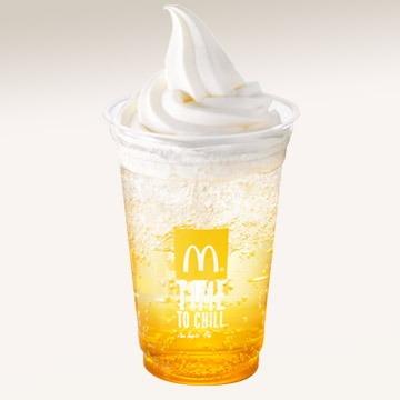 オランダマックフロート パッションオレンジ04@McDonalds