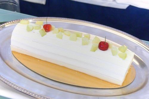 フロマージュブランとメロンのケーキ01@スイートランチ 2014年06月