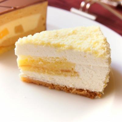 柚子レモンのクリーム入りチーズケーキ02@スイートランチ 2014年06月