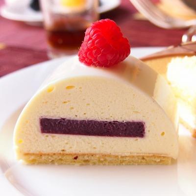 ホワイトチョコとベリーのジュレ冷菓02@スイートランチ 2014年06月