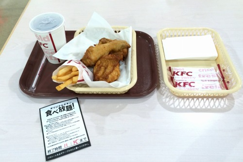 オリジナルチキン食べ放題03@KFC 2014年07月