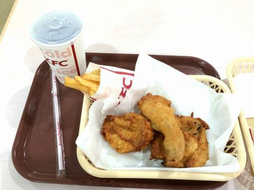 オリジナルチキン食べ放題04@KFC 2014年07月