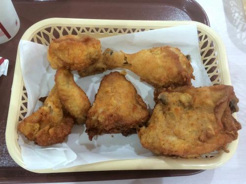オリジナルチキン食べ放題05@KFC 2014年07月