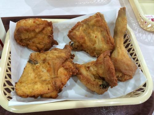 オリジナルチキン食べ放題06@KFC 2014年07月