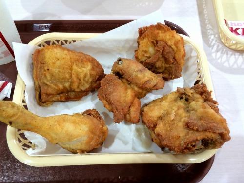 オリジナルチキン食べ放題07@KFC 2014年07月