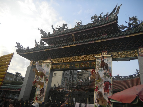 2014台湾龍山寺