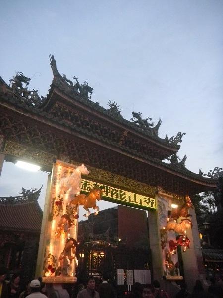 2014台湾龍山寺2