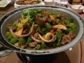 マトンと野菜の超辛干し鍋