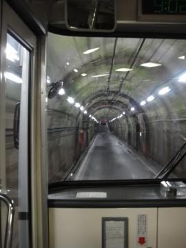 2 扇沢から黒部ダムへ関電トンネル