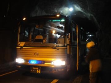 6 黒部トンネルのバス