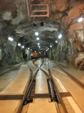 15 工事用トロッコ電車