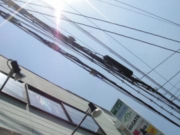 20140726中崎町の空