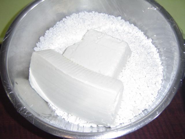 白玉粉。豆腐が入ってます!