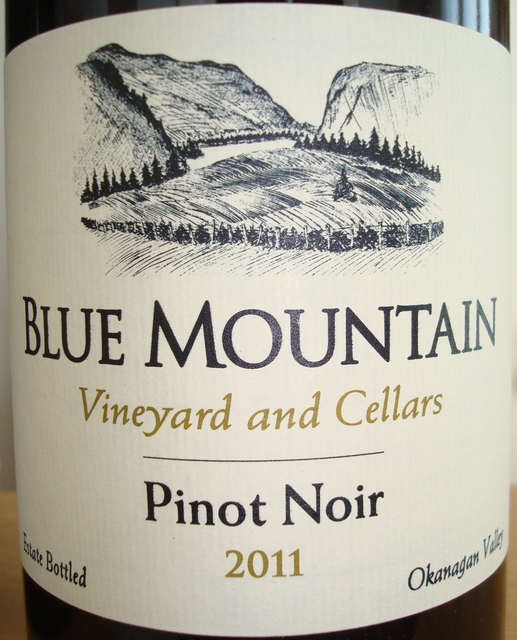 Blue Mountain Pinot Noir Vineyard and Cellars 2011
