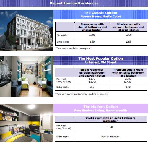 regent accommodation 4