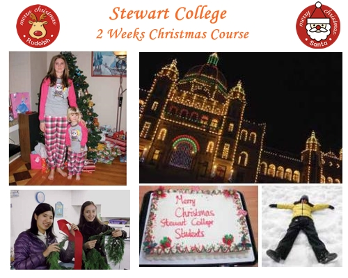 stewart college christmas course 2014