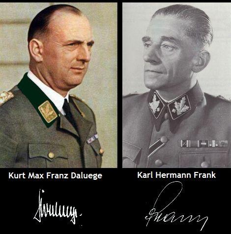 Kurt Max Franz Daluege_Karl Hermann Frank