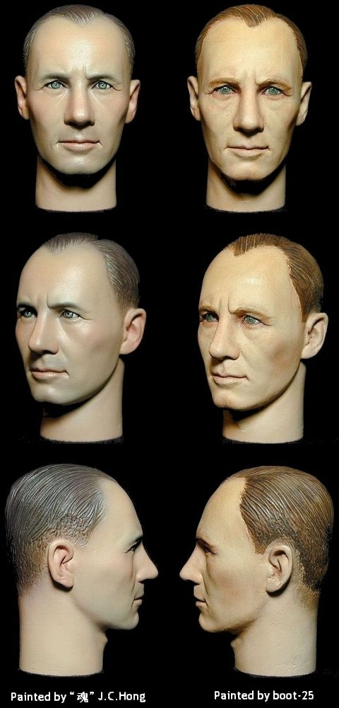 Rommel_headsculpt_painted by boot-25 & J..Hong