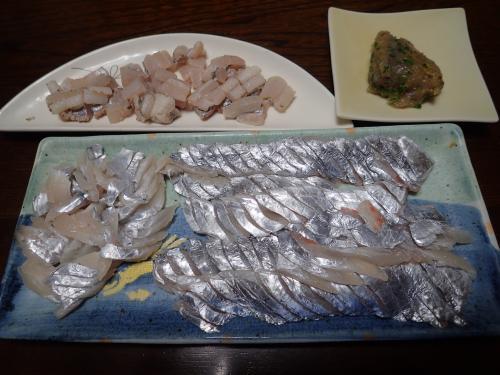 初!太刀魚料理