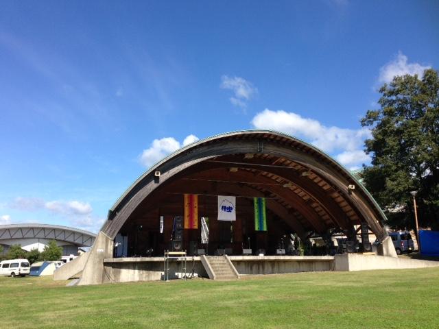 ステージの風景