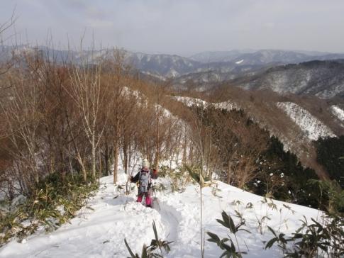 14第1山行2月(莇ヶ岳)20140215