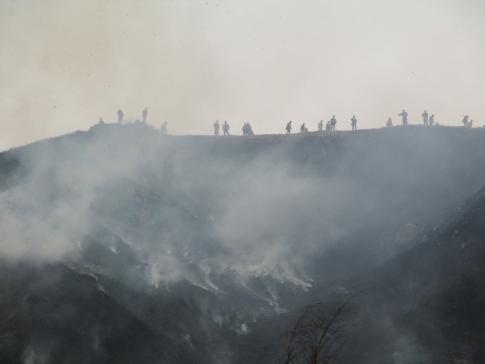 雲月山山焼きボランテイア 039